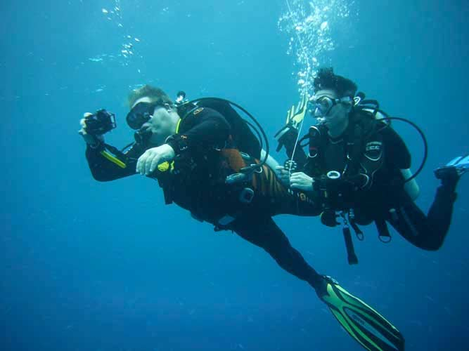 PADI IDC Phuket: Get Advanced with the PADI Advanced Open Water Course on Phuket Thailand.