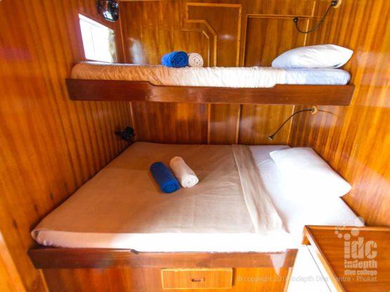 MV Gianani Liveaboard deluxe cabin