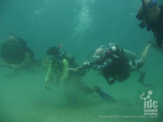 PADI Underwater Navigation Course on with Indepth Phuket Thailand