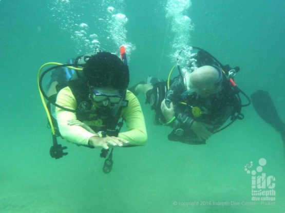Awesome time on the PADI Underwater Navigation Specialty Course