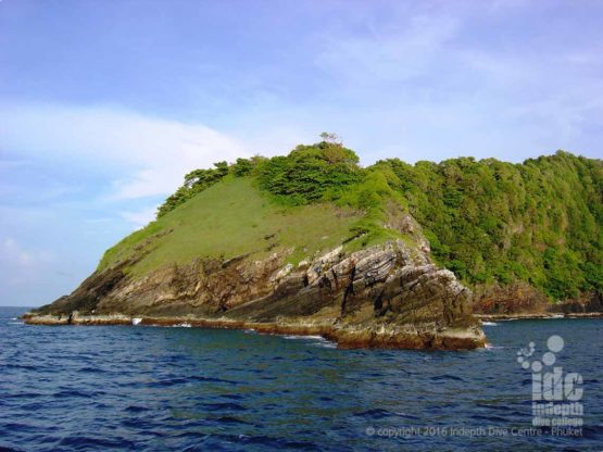 North Point Dive Site ini the Similans Phuket