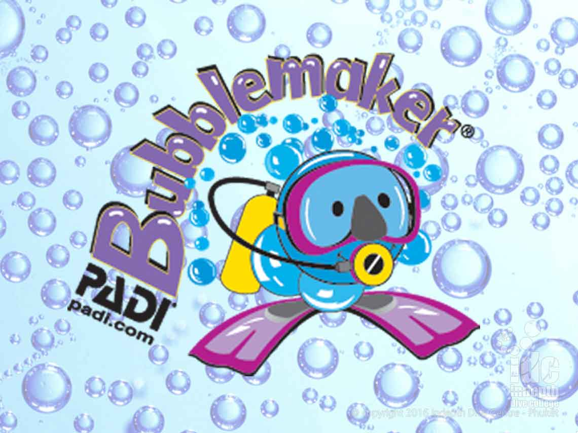 Get your PADI Bubblemaker on Phuket with Indepth!!