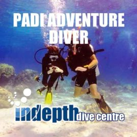 PADI Adventure Diver- Indepth Dive Centre Phuket