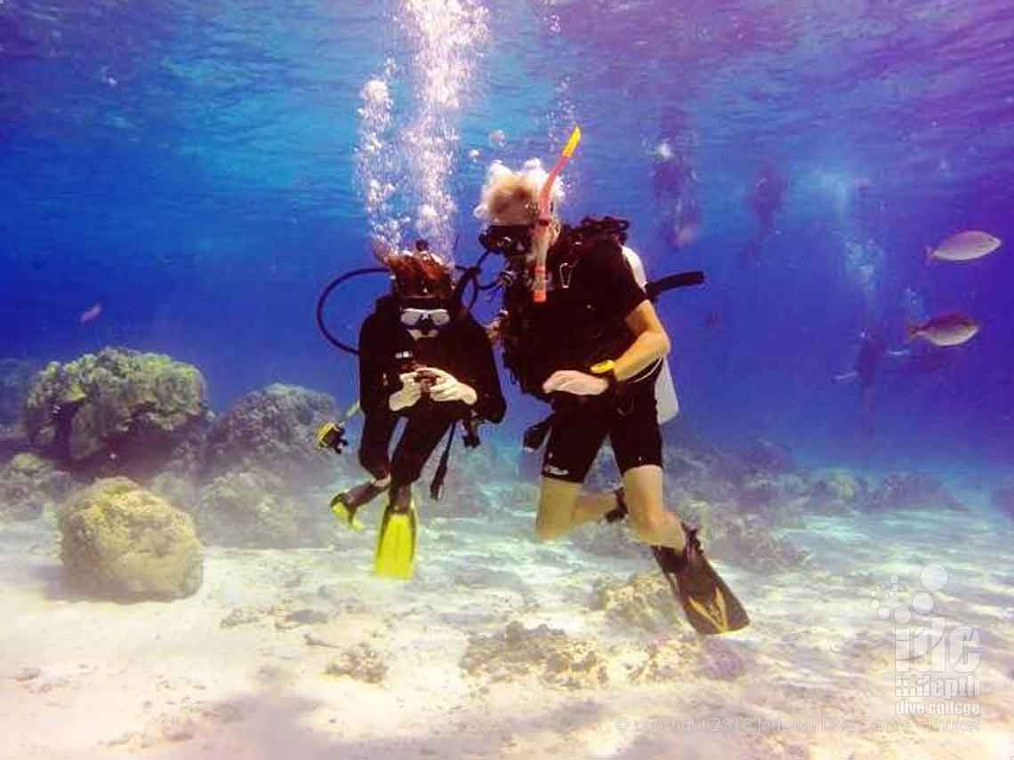 One of the PADI Adventure Dives is the Underwater Navigation Dive on Phuket