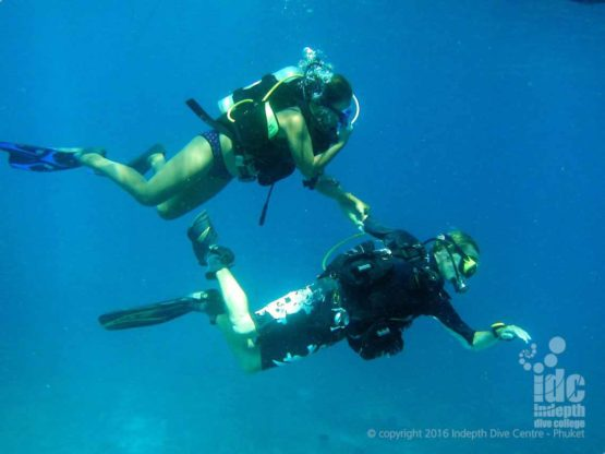 Try Scuba Diving with the PADI DSD diving in the Andaman Sea