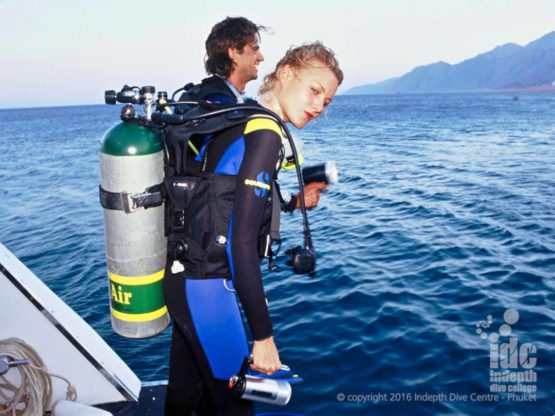 PADI EANx Course with Indepth on Phuket Thailand