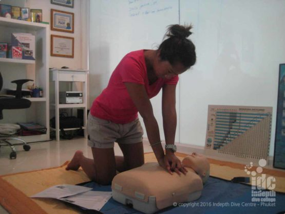 Join us for a CPR / First Aid course while you are on Phuket! Time