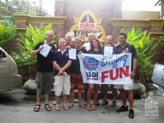 PADI is fun is part of our Indepth IDC policy