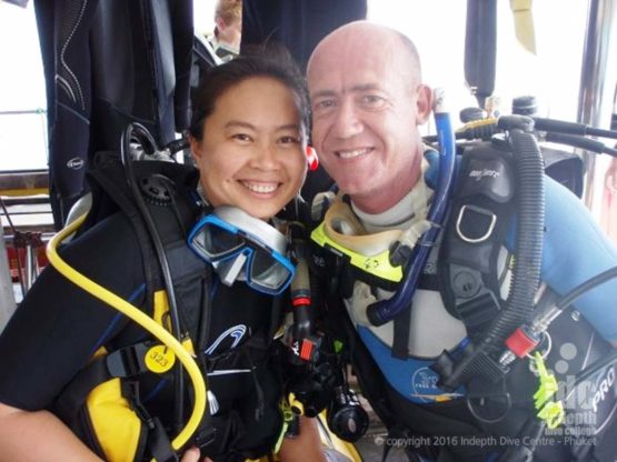 Take your PADI Scuba Diver Course with Indepth on Phuket