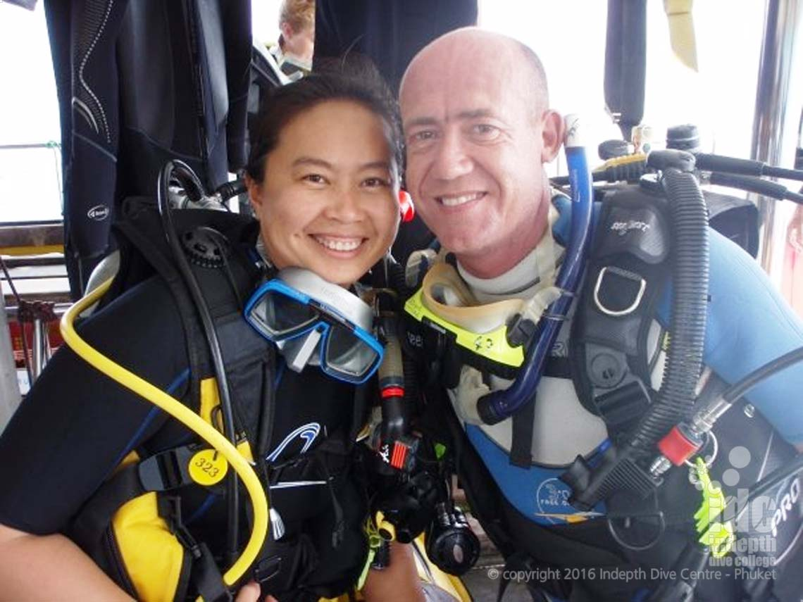 Become a PADI Scuba Diver with Indepth Dive Centre on Phuket Island, Thailand