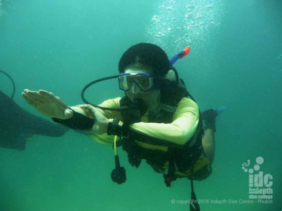 PADI Underwater Navigation Advanced Open Water Dive at Racha Yai Phuket