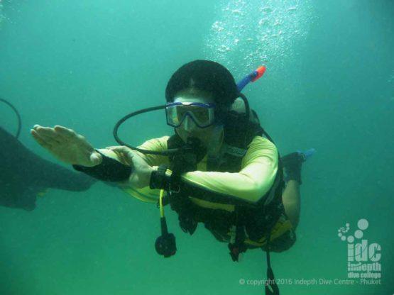 PADI Underwater Navigation Advanced Open Water Dive at Racha Yai Phuket