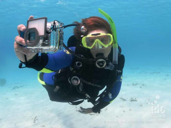 Taking PADI underwater photos one of the most popular diving activities