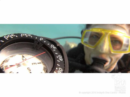 PADI Navigation Course is a great way to learn to navigate underwater