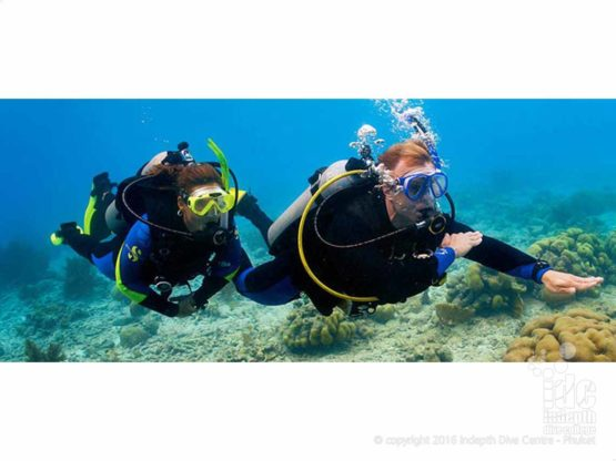 Improve being a navigator and take the PADI Underwater Navigation Course with Indepth Phuket