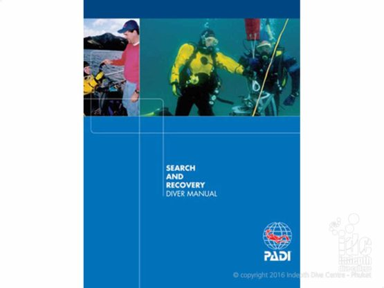 PADI Search & Recovery Specialty Diver Course manual