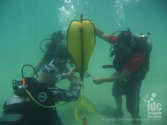Get PADI S&R Course with Indepth on Phuket