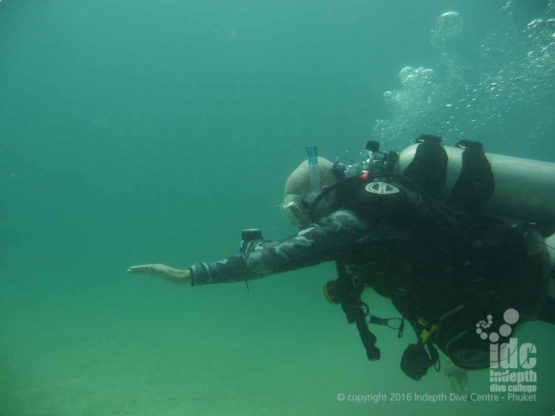 Get perfect underwater navigation with Indepth Dive Centre Phuket and the PADI Underwater Navigation Course
