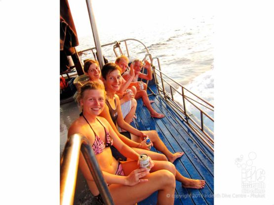 Phuket Boat Diving is a great way to the dive sites