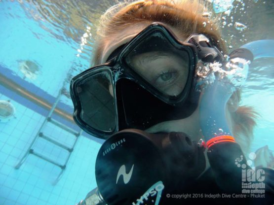 We start your PADI Scuba Diver Course in the pool