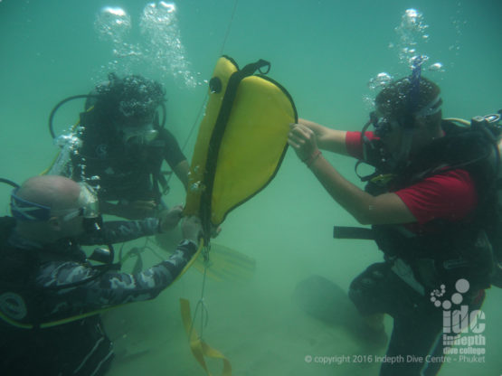 Search and Reovery Specialty Course being taught on Phuket