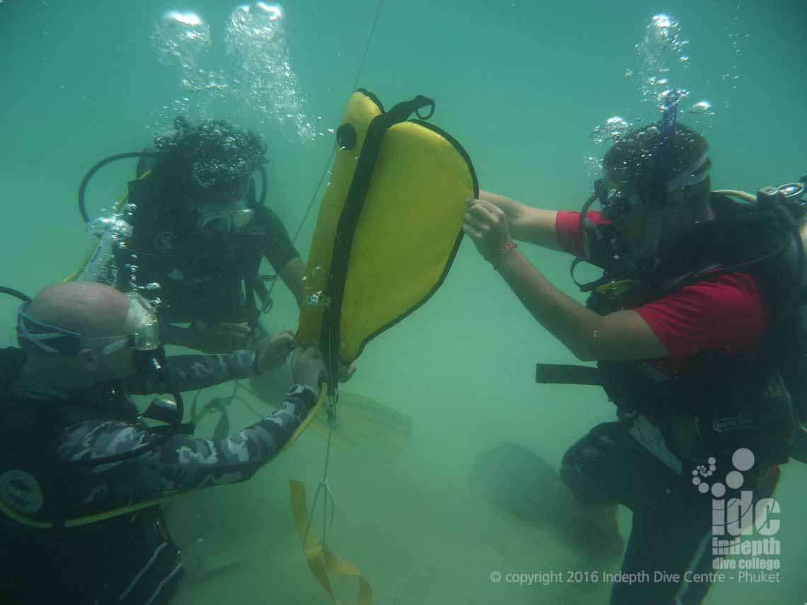 PADI Search and Recovery Course with Indepth on Phuket