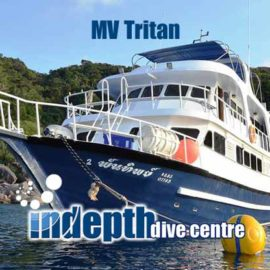MV Andaman Tritan Liveaboard is on of the most comfortable Liveaboard options