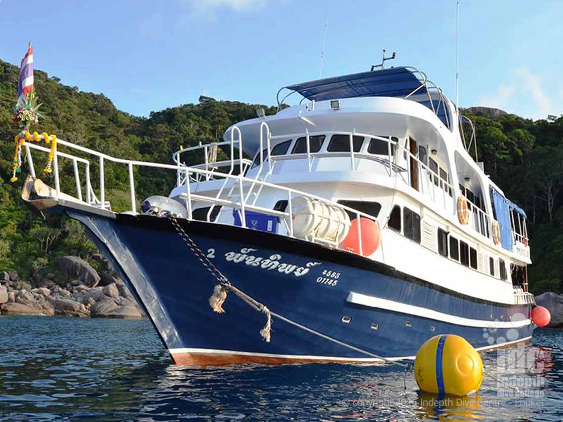 Join Indepth and MV Andaman Tritan Liveaboard for your Similan Islands, Ko Bon, Ko Tachai and Richelieu Rock Liveaboard Safari