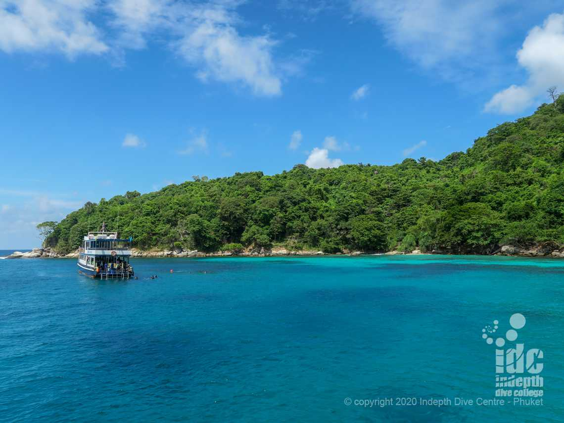 Dive Banana Bay in Racha Noi Islands with Indepth Dive Centre Phuket