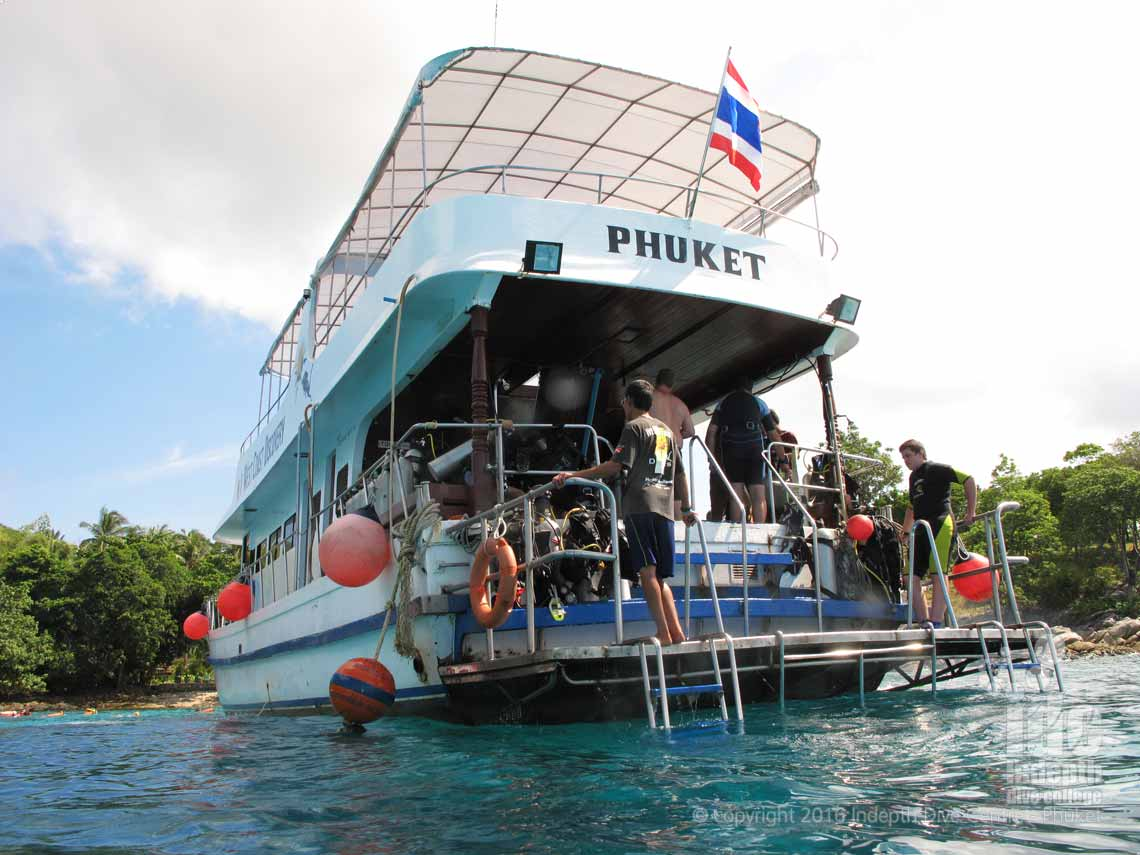 Join Indepth Dive Centre for a Scuba Diving Trip or Snorkeling Tour to Racha Yai Bungalow Bay