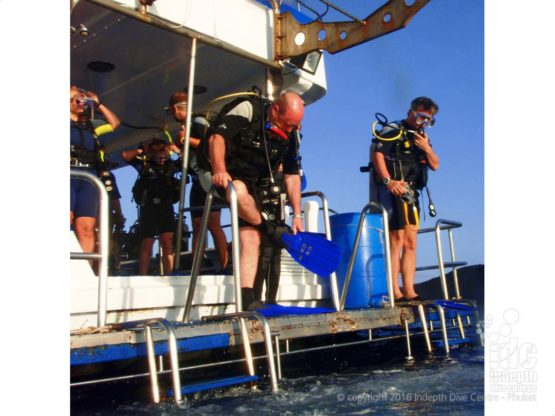 On the PADI Scuba Diver Course you will do 2 boat dives