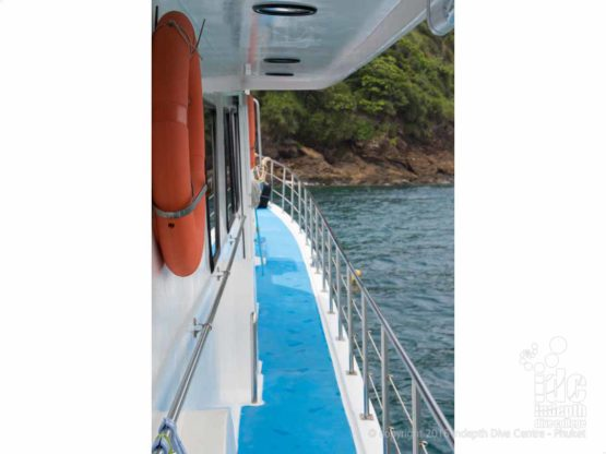 Join Indepth Dive Centre for a Phuket Dive Tour on Boat 2