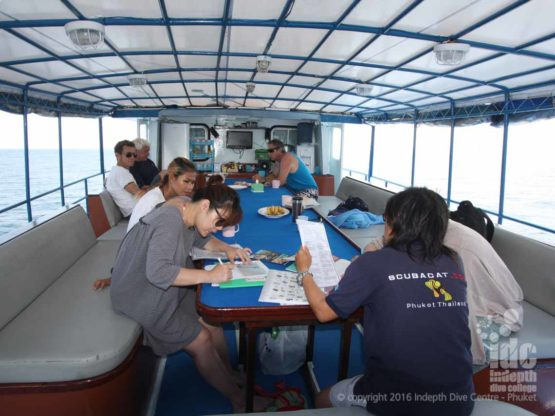 Indepth Dive Centre offers great Phuket Scuba Diving trips with breakfast and lunch included