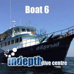 Phuket Scuba Diving – Boat 6 – Indepth Dive Centre Phuket