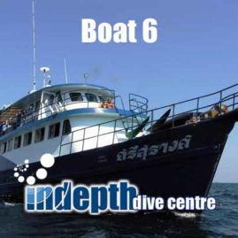 Phuket Scuba Diving with Indepth Dive Centre is a great to spend your holiday
