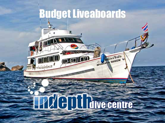 Indepth Dive Centre brings you the best priced Budget Liveaboards Thailand