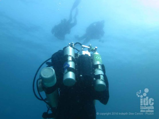 CCR Diving on a Poseidon Rebreather at The Similan Islands