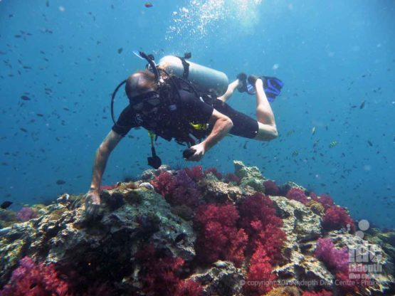 On the PADI Adventure Diver Course be sure to check your air regularly on every scuba dive