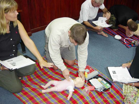 EFR CPR and First Aid Children Courses Phuket Thailand