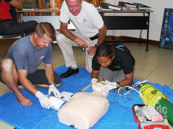A DAN Oxygen Provider Certification is a must for all divers