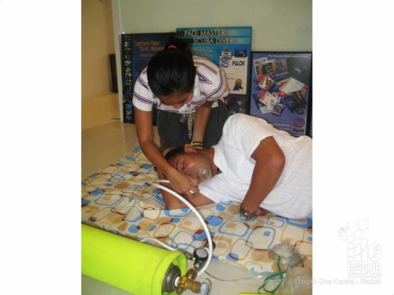 DAN Oxygen Provider Course is one of the best diving Oxygen courses available