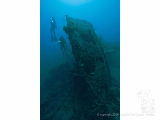 There is nothing quite like a Deep Dive on a Phuket Wreck