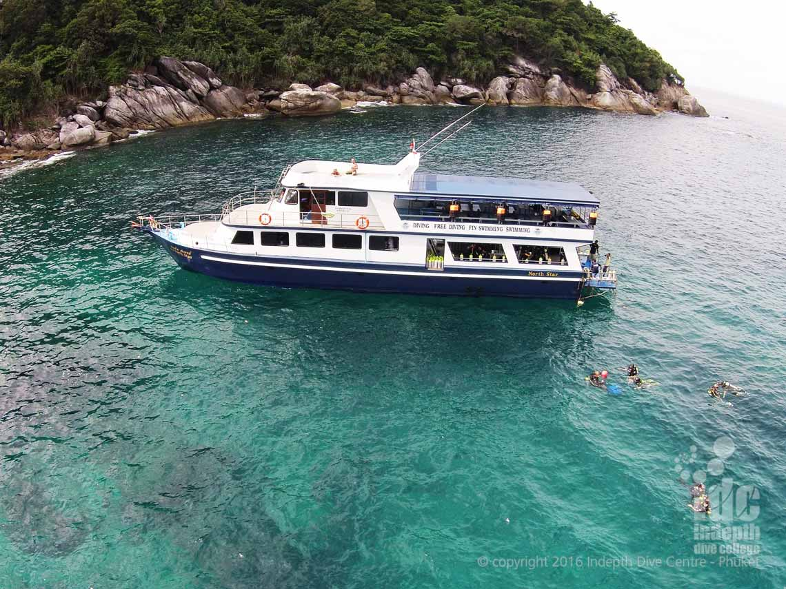 Indepth Dive Boat 7 Phuket Thailand an awesome Phuket Scuba Diving Trip