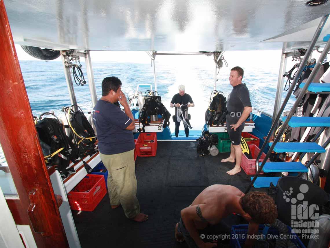 MV Scuba Adventure Liveaboard - Indepth Dive Phuket - IDC Phuket