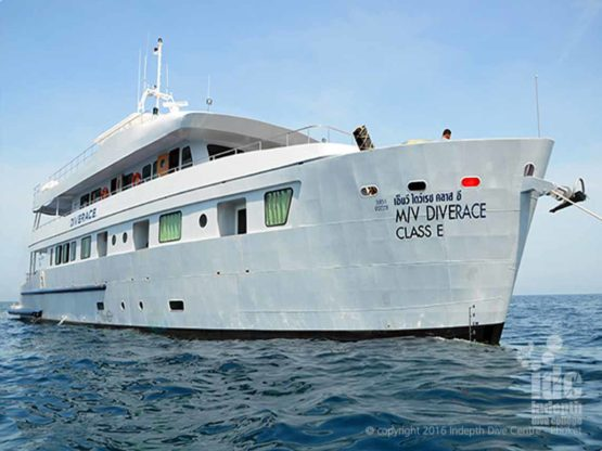 Indepth and DiveRACE Liveaboard your luxury Liveaboard experience