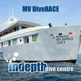 MV DiveRACE Liveaboard – Indepth Dive Centre Phuket