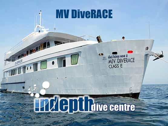DiveRACE Liveaboard with Indepth to Similans, Burma and Southern Adamann Sea