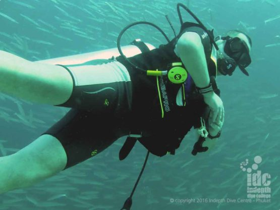 Diving Fun at Three Islets with Indepth Dive Centre Phuket Thailand