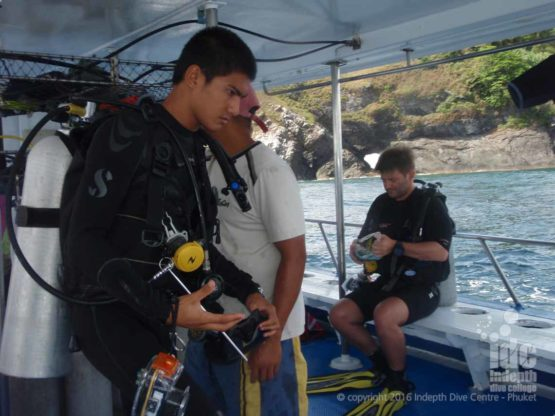 Phuket Scuba Diving with Indepth Dive Centre Boat 6