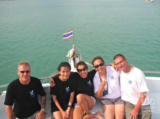Scuba diving with Indepth on Phuket is always fun